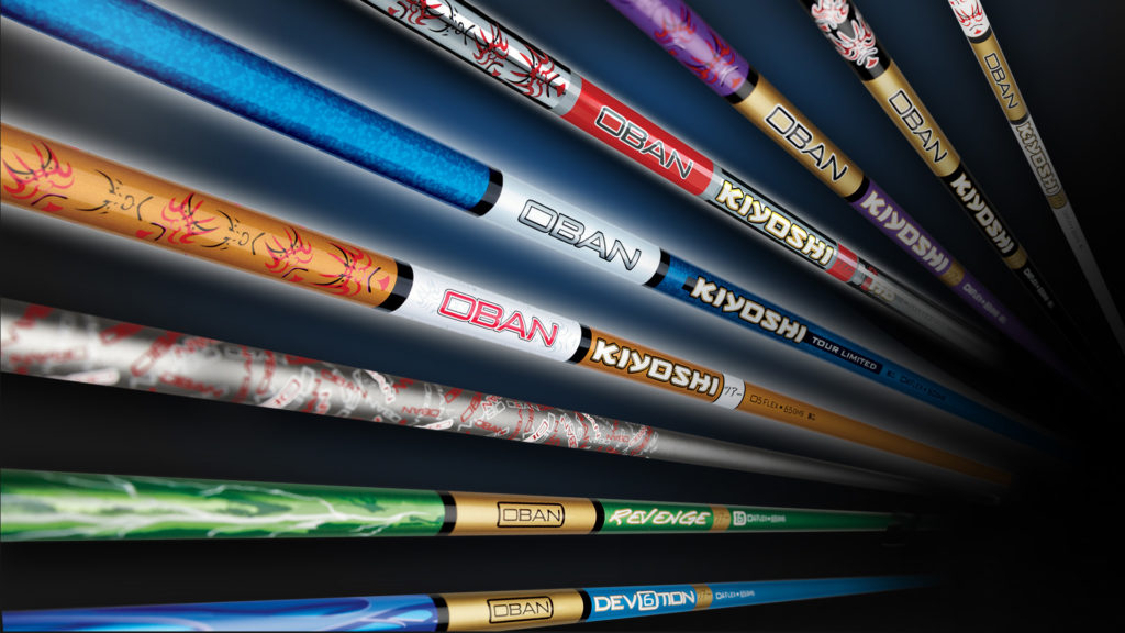 golf shafts oban